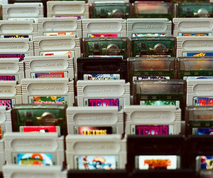 game, gameboy, and tetris image