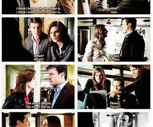 castle, beckett, and ryan image