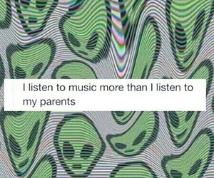 music, alien, and parents image