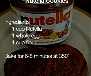 nutella and cookie image