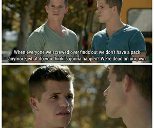 ethan, aiden, and teen wolf image