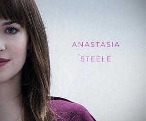 dakota johnson, fifty shades of grey, and anastasia steele image