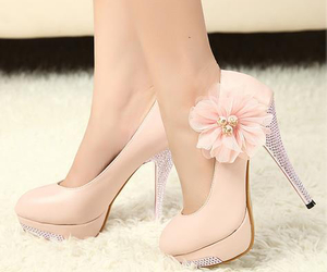 date, girly, and high heels image