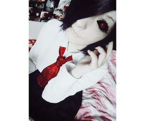 anime, cosplay, and ghoul image