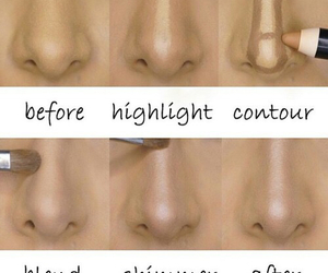 contour, highlight, and makeup tutorial image