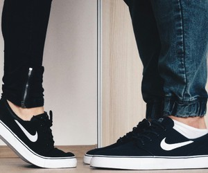 nike, couple, and cute image