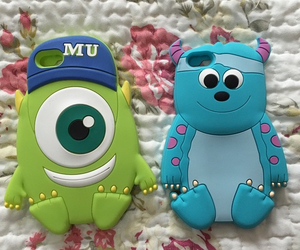 monster inc, cute, and iphone cases image