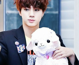 jin, bts, and cute image