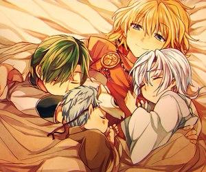 akatsuki no yona, zeno, and kija image