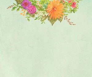 colores, flor, and flores image