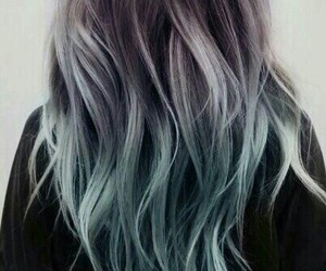 hair, color, and blue image