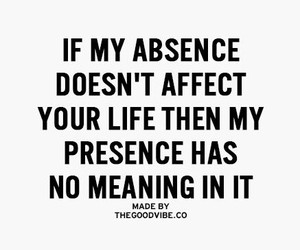 absence and meaning image