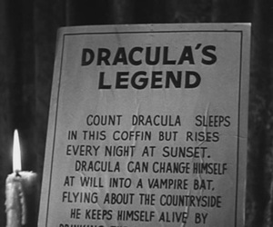 Dracula, legend, and vampire image
