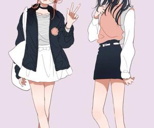animation, girl, and anime image