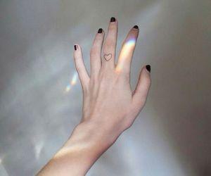 grunge, tattoo, and hand image