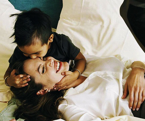 Angelina Jolie, baby, and kids image