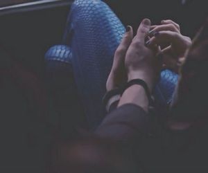 couple, Relationship, and holding hands image
