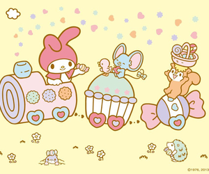 my melody and sanrio image