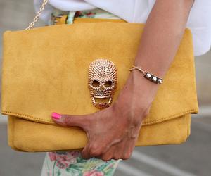 fashion, bag, and yellow image