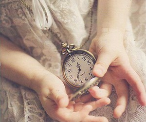 dress, time, and vintage image