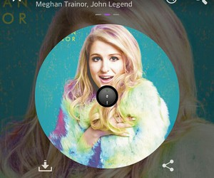 music, meghantrainor, and song image