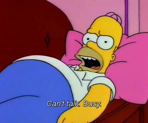bart simpson, funny, and marge simpson image