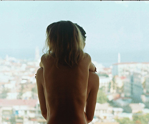 bare back, beautiful, and dress image