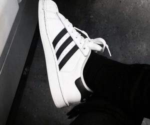adidas, black, and fashion image