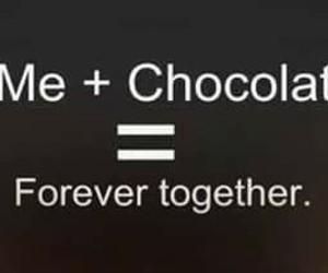 Chocolate and me