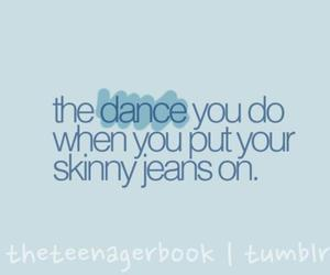 dance, funny, and quote image