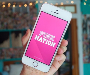 pink, tumblr, and iphone image