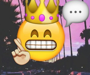 crown, l.a., and purple image