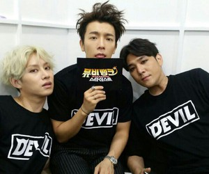 donghae, super junior, and ้heechul image