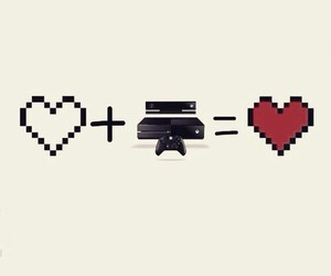 game, xbox, and love image
