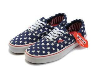 estrellas, shoes, and vans image