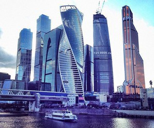 city, travel, and Dubai image