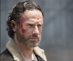 walking dead, twd, and ricg grimes image