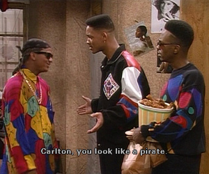 will smith, fresh prince, and carlton image
