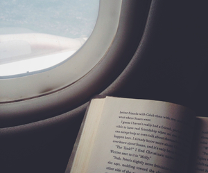 aerial, airplane, and book image