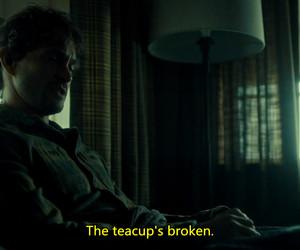 broken, hannibal, and teacup image