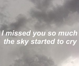 grunge, quotes, and sky image
