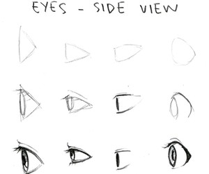 eyes, tutorial, and drawing image