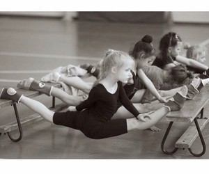flexibility, flexible, and rhythmic gymnastics image