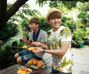Leeteuk, super junior, and ryeowook image