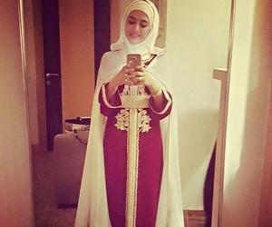 hijab and caftan image
