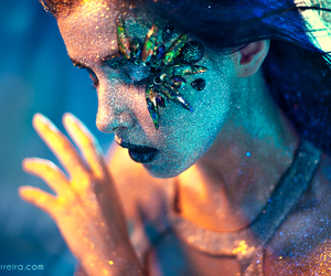 girl, glitter, and photography image