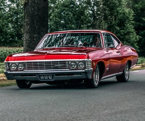 car, chevy, and classic image