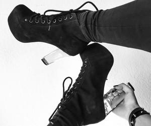black, shoes, and nina luca image