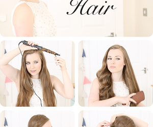 diy, hair, and hair tutorial image