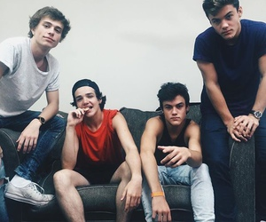 aaron carpenter, grayson dolan, and ethan dolan image
